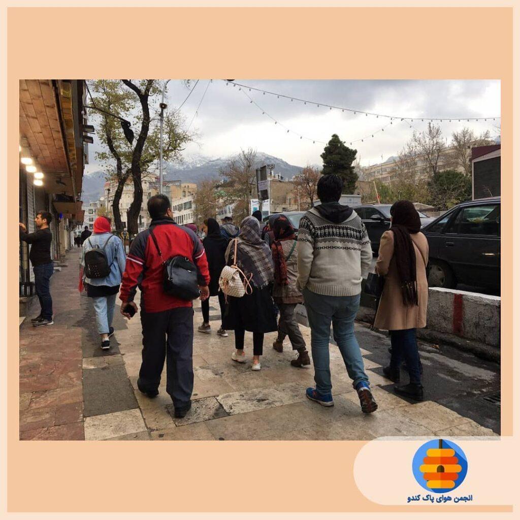 معرفی کمپین پیاده برو