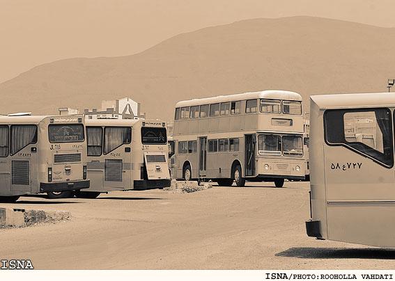 اتوبوس های فرسوده و آلودگی هوا