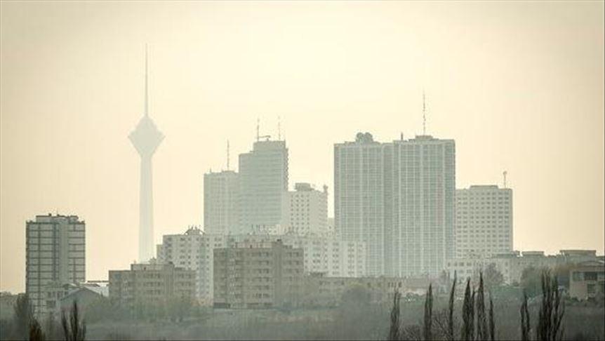 آلودگی هوا در پنج شهر